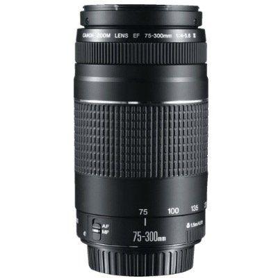 Nur bis 14 Uhr: CANON EF III 75 mm 300 mm f/4 5.6 EF für 69€ (statt 151,89€)