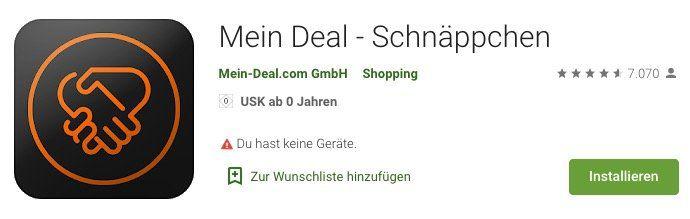 UPDATE! Doppel Deal bei Android   Playstore Update ist online   Bitte um kurzes Feedback