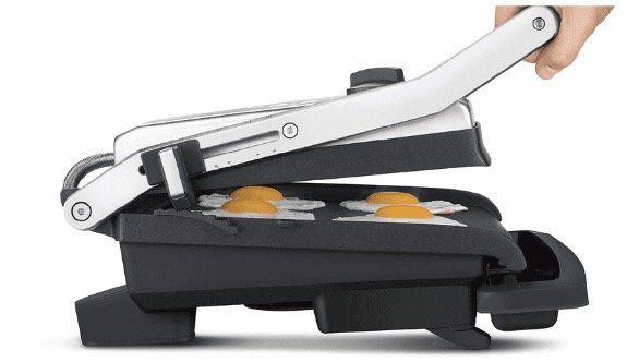 SAGE Kontaktgrill the Adjusta Gril & Press SGR250 mit 2200W für 62€ (statt 80€)