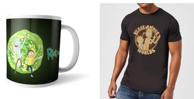 Rick & Morty T Shirt + Tasse für 11,48€ (statt 25€)