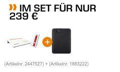 AVM FRITZ!Box 7590 + Repeater 1750E ab 229€ (statt 241€) + WD Elements 1TB gratis (Wert 51€)