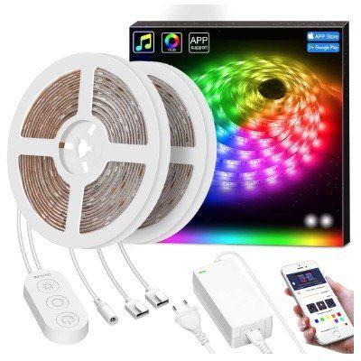 Govee 10 Meter RGB LED Streifen inkl. Controller & Fernbedienung für 37,51€ (statt 56€)