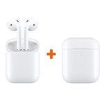 Apple AirPods 2 (2. Gen) mit zusätzlichem kabellosen Ladecase für 175,89€ (statt 203€)
