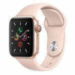 Apple Watch Series 5 LTE 40mm Gold sandrosa für 484,80€ (statt 537€)