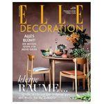 5 Ausgaben ELLE Decoration für 26€ + 25€ Verrechnungsscheck