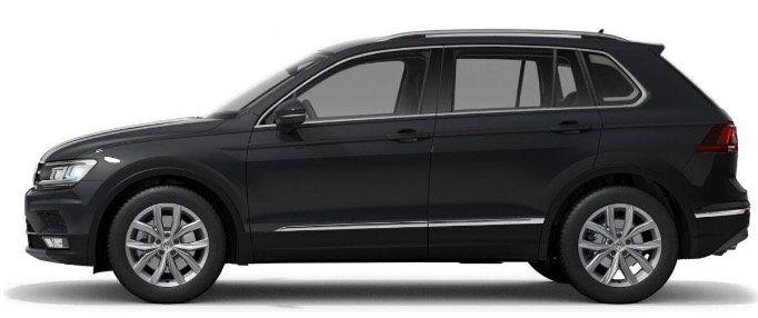 Behinderte Menschen: VW Tiguan Highline 4Motion 2,0 TSI mit 190PS DSG für 139€ mtl.   LF 0,40