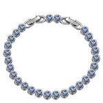 """Susan Y Armband """"Ozean"""" mit blauen Swarovski-Steinen für 9,99€ – Prime"""