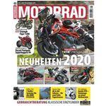 6 Ausgaben MOTORRAD für 27,30€ + 27,30€ Verrechnungsscheck