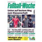12 Ausgaben Fußball Woche für 36€ – Prämie: 35€ Amazon-Gutschein