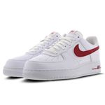 Vorbei! Nike Air Force 1 Low Herren Sneaker in Weiß-Rot für 59,99€ (statt 99€) – Restgrößen