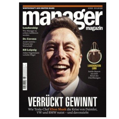 6 Ausgaben Manager Magazin für 54€ + 50€ Bestchoice Gutschein