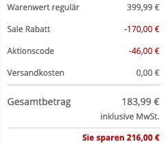BOSS Kurzmantel Caylen3 mit Stehkragen in Marineblau oder Schwarz für 183,99€ (vorher 400€)