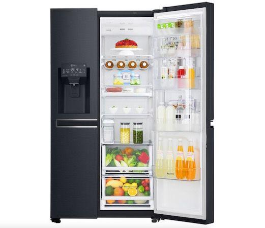 LG GSJ961MTAZ Side by Side mit Wasser  & Eiswürfelspender für 1.349€ + 79€ in Superpunkten (statt 1.599€)