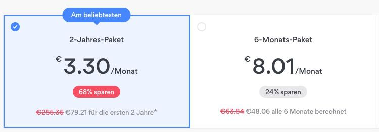 NordVPN 2 Jahres Account für einmalig 79,21€ (3,30€ pro Monat)
