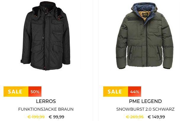 TOP! Jacken Sale Tara M + 30% Extra Rabatt   z.B. Only&Sons Parka für 25,94€ (statt 59€)