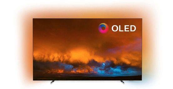 Philips 65OLED804 65 UHD OLED Fernseher mit 3 seitigem Ambilight für 1.599€ (statt 1.879€)   Verpackungsmängel