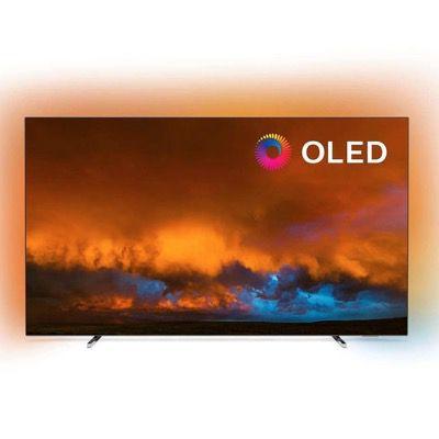 Philips 65OLED804 65″ UHD OLED-Fernseher mit 3-seitigem Ambilight für 1.599€ (statt 1.879€) – Verpackungsmängel
