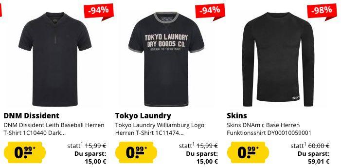 Schnell! 🔥 SportSpar mit 0,99€ Fixpreis Sale   Restgrößen