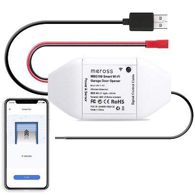 Meross MSG100 Smart WLAN Garagenöffner via App für 22,19€ (statt 40€)