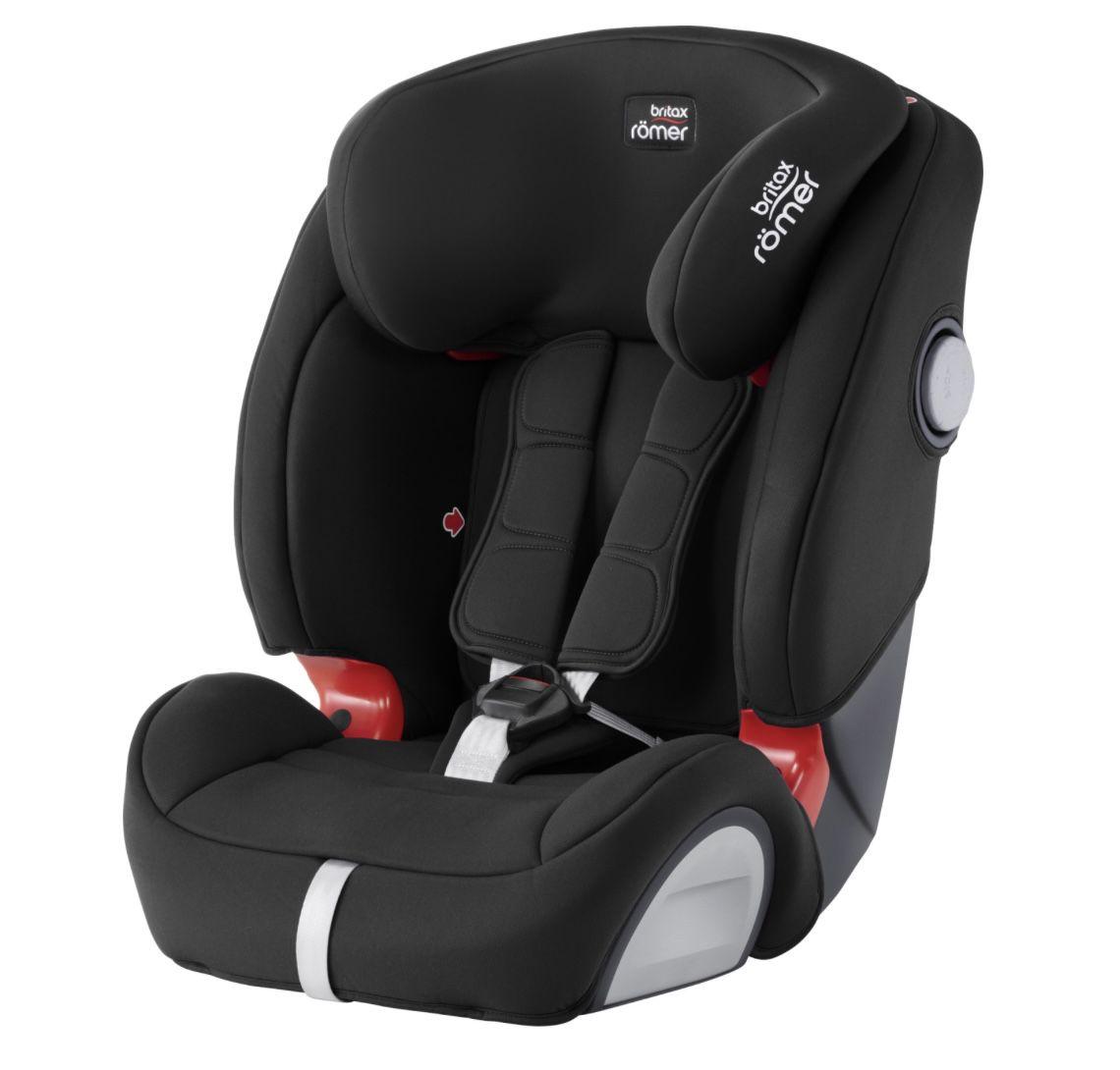 Britax Römer Kindersitz Evolva 123 SL SICT in Schwarz für 117,63€ (statt 129€) + 7 fach Babypunkte