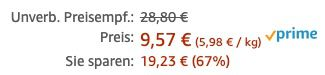 32er Pack Twix Riegel ab 9,57€   Prime