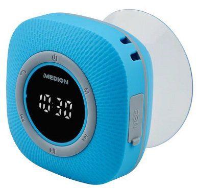 MEDION LIFE P66096 Duschradio mit UKW Radio und Bluetooth für 17,94€ (statt 30€)