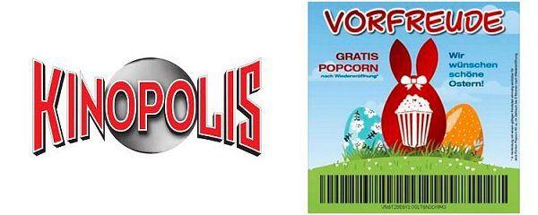 Lokal: Nach Wiedereröffnung von Kinopolis gratis Popcorn