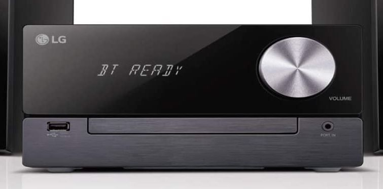 LG CM2460DAB Micro Hifi Anlage mit 100Watt in Schwarz ab 109€ (statt 124€)