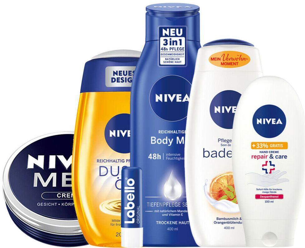 NIVEA Vorteilspack 6tlg. Pflege Produkte für 13,99€ (statt 19€)