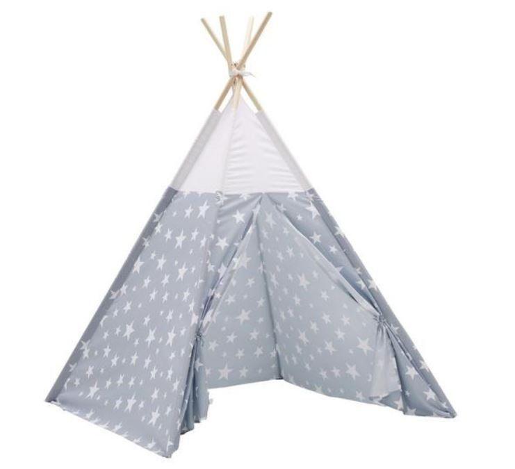 Star Indianer Zelt in Grau 165cm ab 20,96€ (statt 30€)