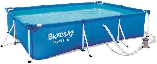 Bestway Steel Pro Frame Pool Set inkl. Filterpumpe für 99,99€(statt 159€)