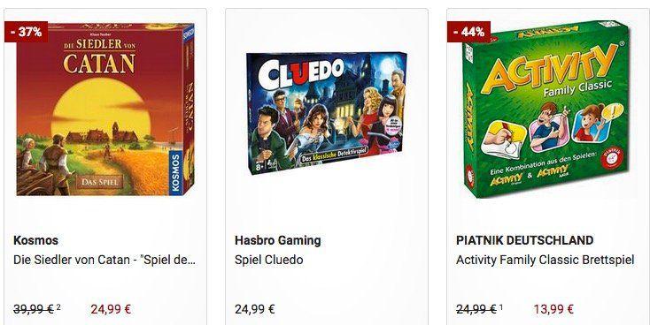 Galeria mit  20% auf Gesellschaftsspiele   z.B. Siedler von Catan für 19,99€ (statt 26€)