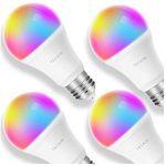 4er Set Teckin Smart RGB LED-Birnen für 32,63€ (statt 47€)