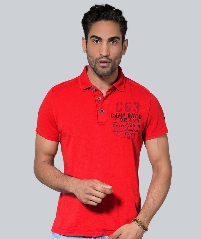 Camp David Super Kracher: z.B. Herren Poloshirt ab 29,37€