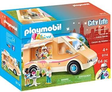 Playmobil City Life Eiswagen 9114 für 23,98€ (statt 33€)