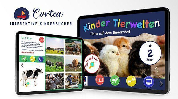 """Leider nicht mehr KOSTENLOS: Interaktives Kinderbuch """"Die Tiere auf dem Bauernhof"""""""