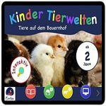 """KOSTENLOS: Interaktives Kinderbuch """"Die Tiere auf dem Bauernhof"""""""