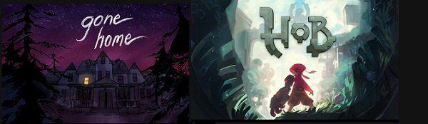 Epic Games: Gone Home (IMDb 6,7/10) + Hob (Metacritic 7,7) gratis