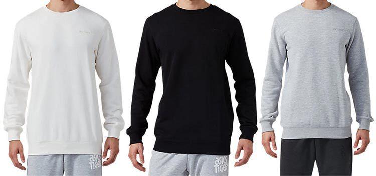 Asics Pullover OP Crew Sweat in 3 Farben für je 22€ (statt 45€)