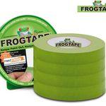 Vorbei! 4x FrogTape Malerabdeckband (24mm x 41,1m) für 23,90€ (statt 31€)