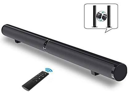 Fityou BT Soundbar mit 6 Lautsprechern & Surround Sound für 76,58€ (statt 90€)