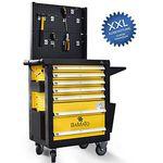 BAMATO WORK-550  XXL Werkstattwagen inkl. Werkzeug für 386,10€ (statt 475€)