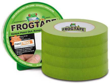 4x FrogTape Malerabdeckband (36mmx41,1m) für 28,90€