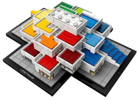 Vorbei! LEGO® Architecture 21037 LEGO House Billund 2017 für 53,49€ (statt ~100€)