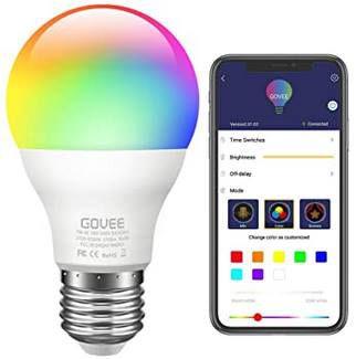 Govee LED RGBW 7W Glühbirne mit App Anbindung für 8,44€   Prime