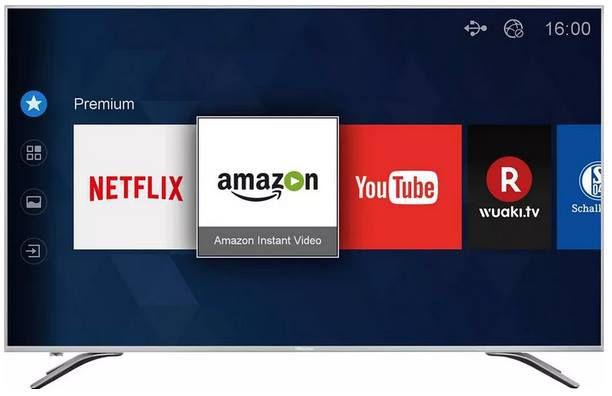 Hisense H55A6500 55 ZOLL UHD Smart TV mit Triple Tuner & 3x HDMI für 378,95€ (statt 484€)