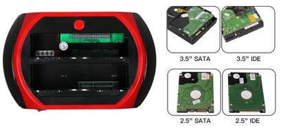 875D Dockingstation für 3,5 & 2,5 Zoll HDDs für 16,57€   aus DE