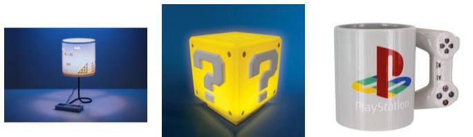 Gaming Geschenke im Sale bei Zavvi z.B. Super Mario Fragezeichen Lampe für 12,99€ (statt 18€)