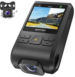 APEMAN C550A 1080p Dual Dashcam mit GPS für 40€ (statt 69€)