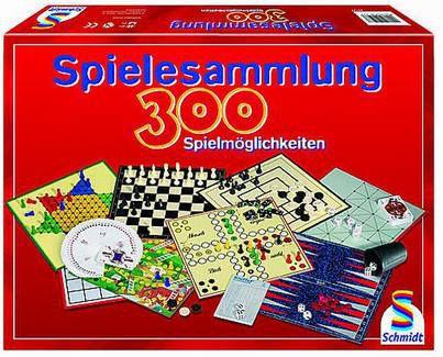 Schmidt Spielesammlung mit 300 Spielmöglichkeiten für 23,95€ (statt 40€)